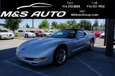 Pre-Owned 2002 Chevrolet Corvette Convertible 2D RWD Convertible