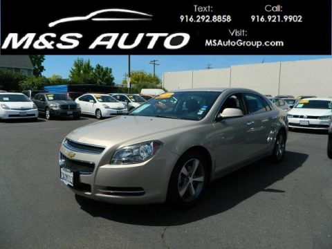 Pre-Owned 2012 Chevrolet Malibu LT with 1LT FWD 4dr Car