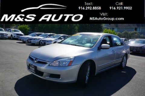 Pre-Owned 2006 Honda Accord Sdn EX-L V6 with NAVI With Navigation