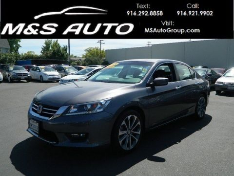 Pre-Owned 2015 Honda Accord Sedan Sport FWD 4dr Car