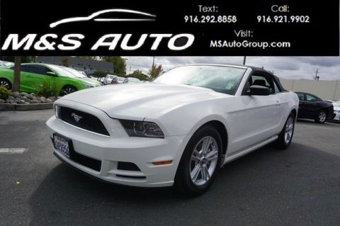 Pre-Owned 2013 Ford Mustang V6 Convertible 2D RWD Convertible