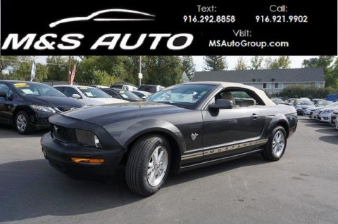 Pre-Owned 2009 Ford Mustang Deluxe Convertible 2D RWD Convertible