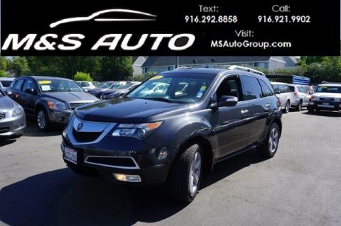 Pre-Owned 2013 Acura MDX Tech/Entertainment Pkg With Navigation & AWD