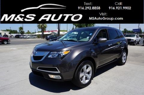 Pre-Owned 2011 Acura MDX Tech Pkg With Navigation & AWD