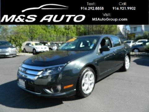 Pre-Owned 2010 Ford Fusion SE FWD 4dr Car