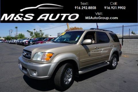 Pre-Owned 2003 Toyota Sequoia SR5 RWD Sport Utility