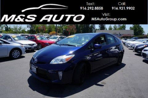 Pre-Owned 2012 Toyota Prius Three Hatchback 4D FWD Hatchback