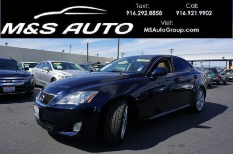 Pre-Owned 2006 Lexus IS 250 Auto RWD 4dr Car