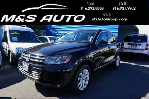 Pre-Owned 2011 Volkswagen Touareg VR6 With Navigation & 4WD