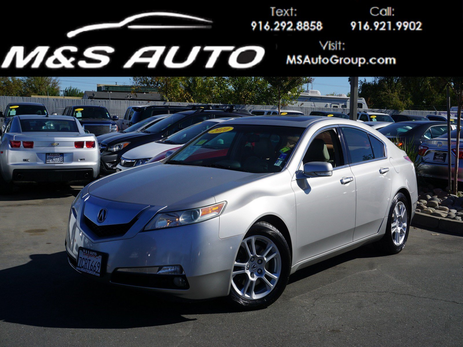 Pre Owned 2010 Acura TL 4dr Car in Sacramento A