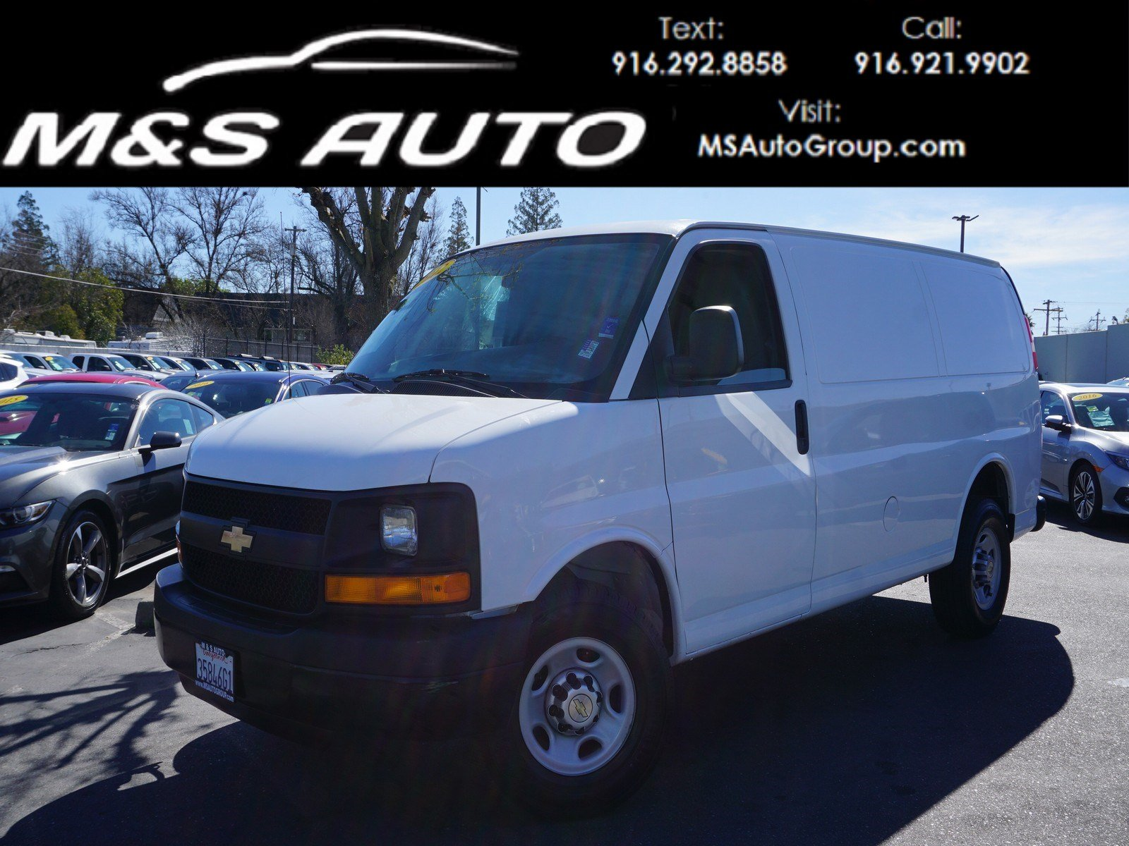 Pre-Owned 2012 Chevrolet Express Cargo Van
