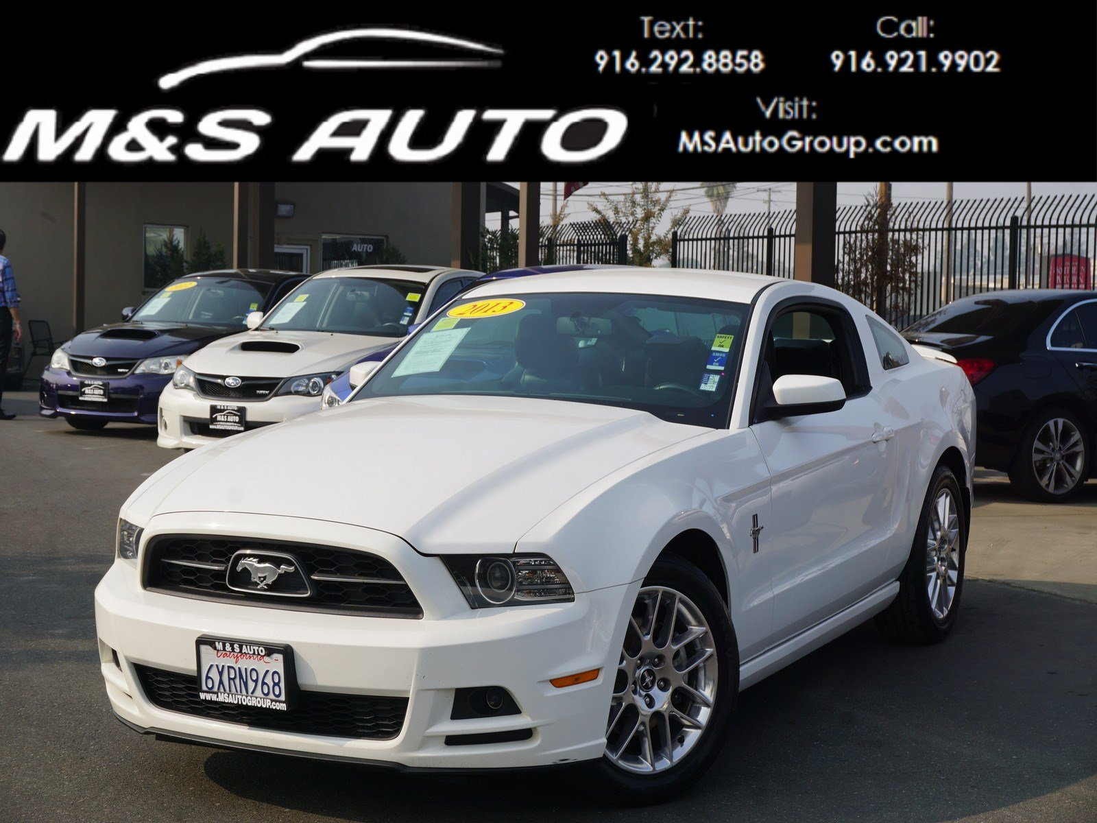 Pre owned 2013 ford mustang v6 premium