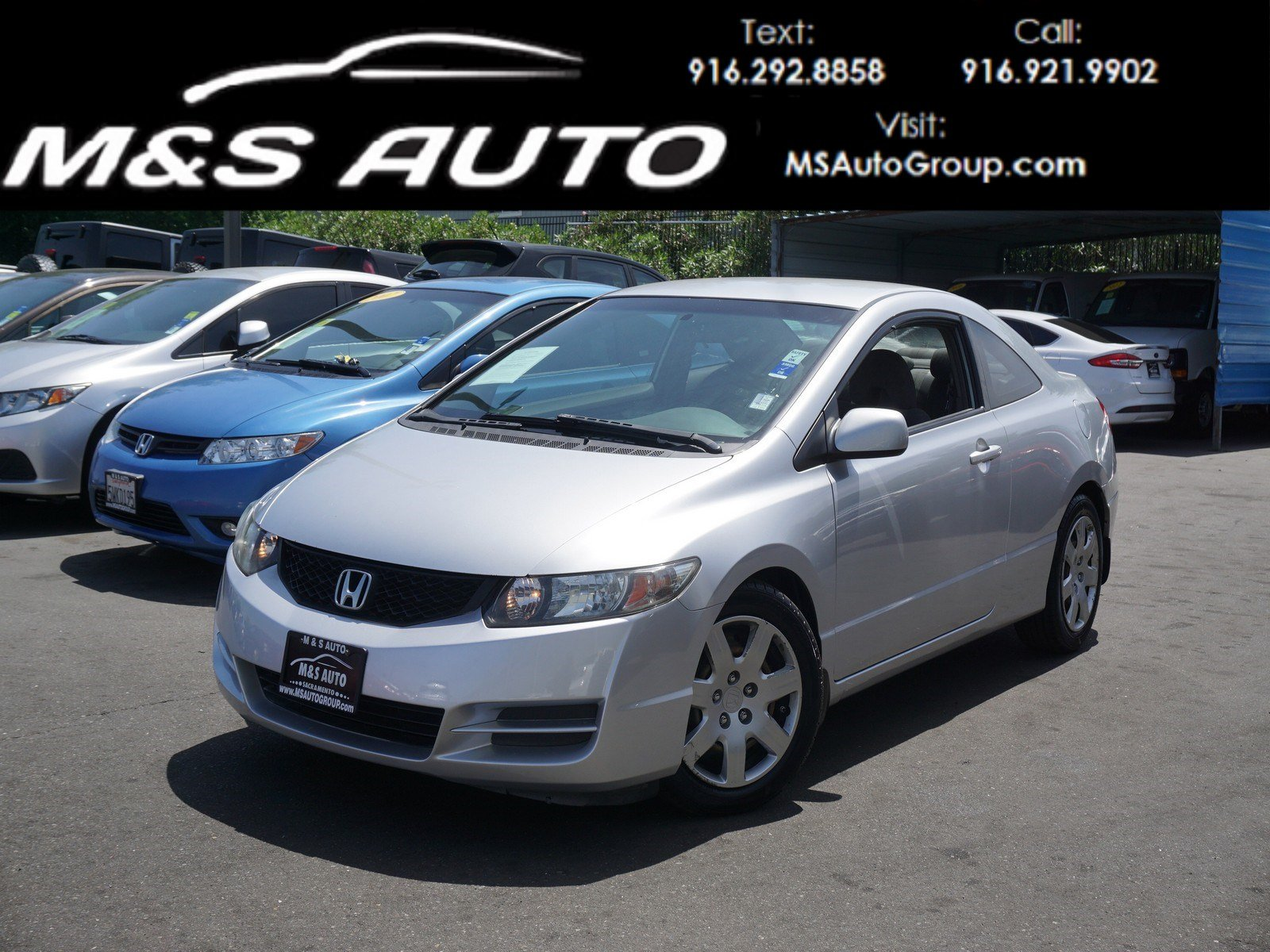 Pre-Owned 2010 Honda Civic Cpe LX