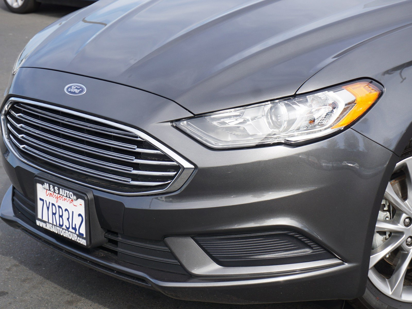 Pre Owned 2017 Ford Fusion SE 4dr Car in Sacramento A