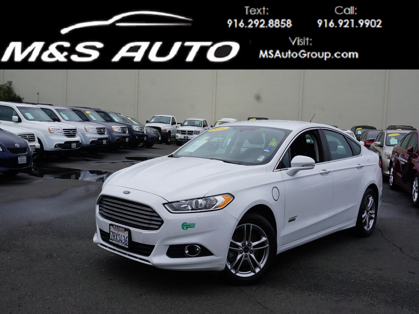 Pre Owned 2016 Ford Fusion Energi Anium