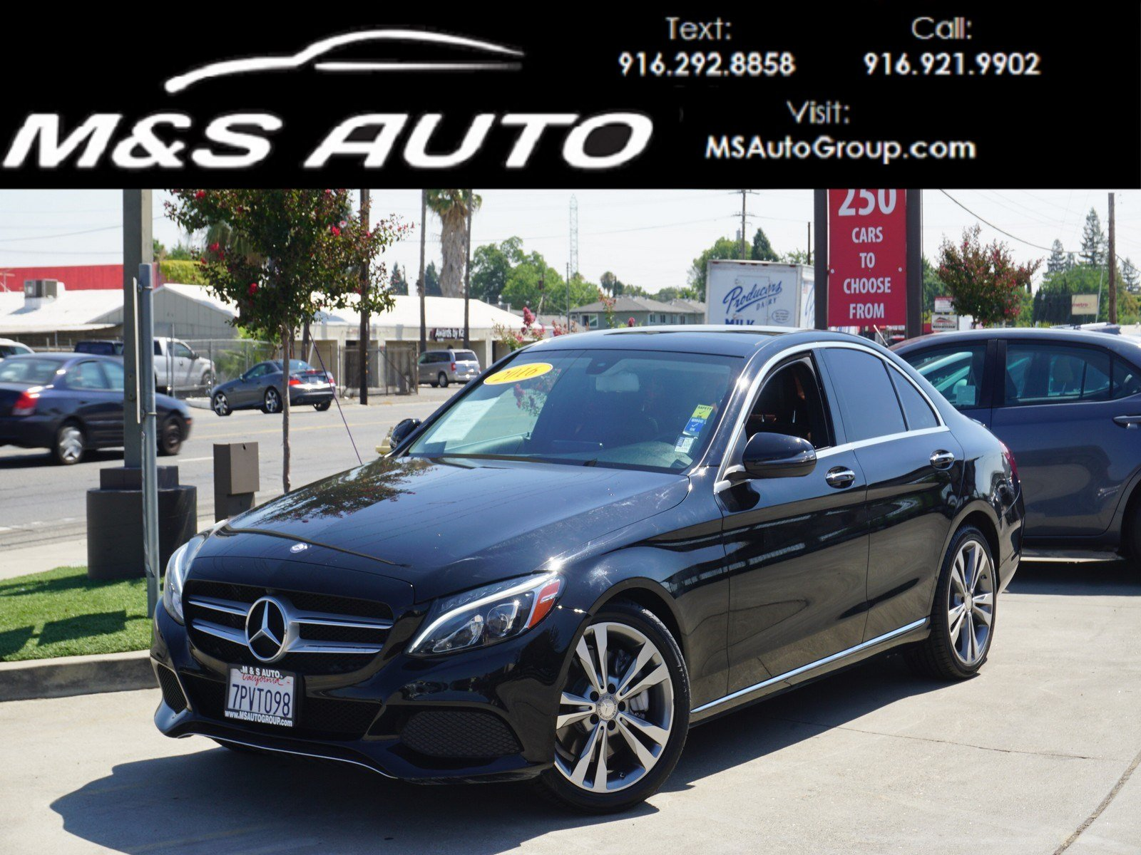 Pre Owned 2016 Mercedes Benz C Class C 300 4dr Car in Sacramento