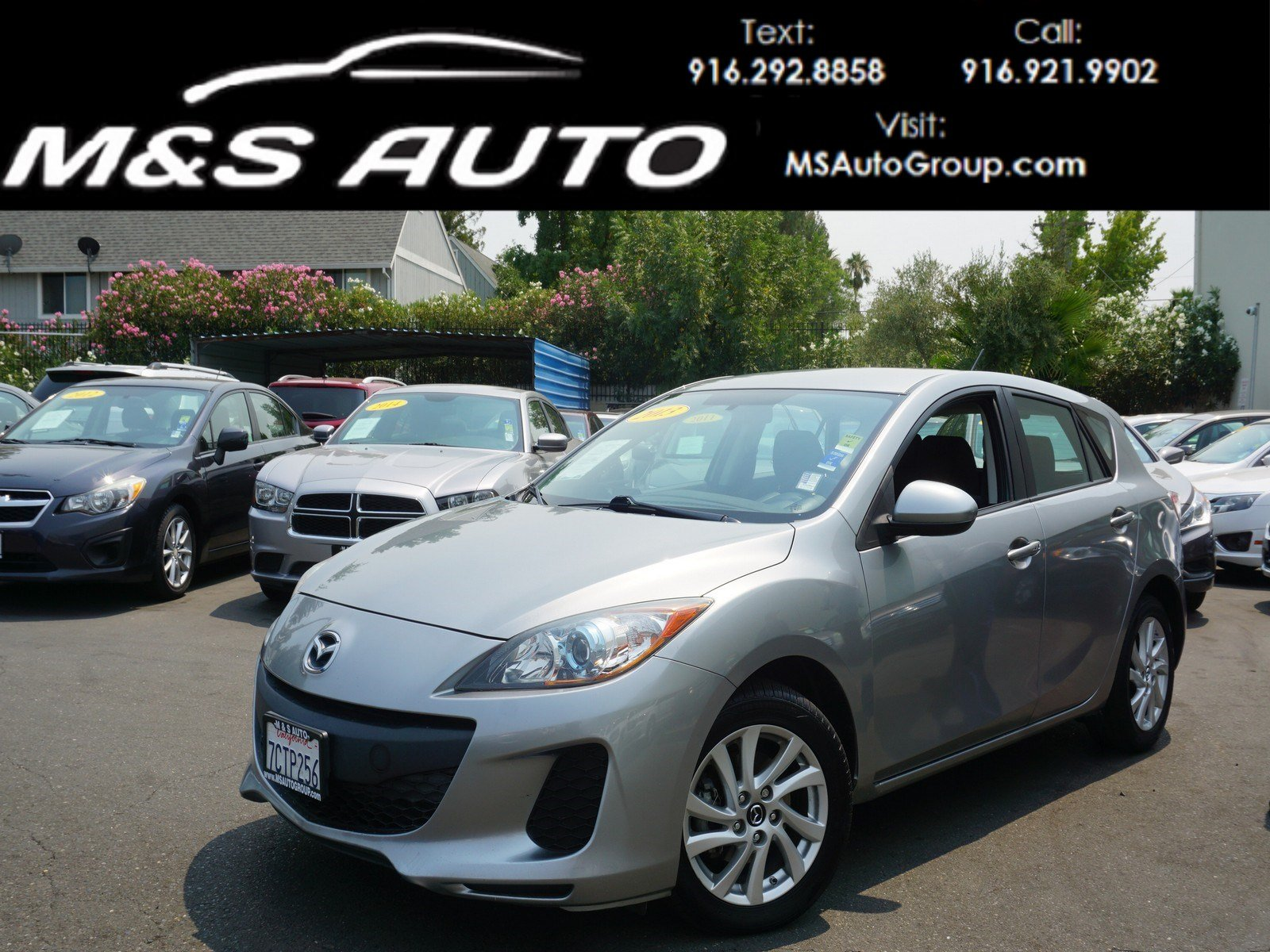 Pre Owned 2013 Mazda3 I Touring